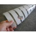 Amostra 20cm x 30cm revestimento decorativo faixas 3cm