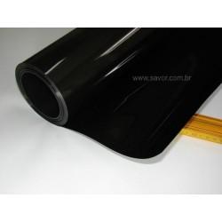 Amostra 20cm x 30cm - Película Blackout preto 0%