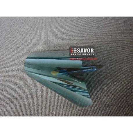Amostra 20cm x 30cm - Película Verde metalizado 30%