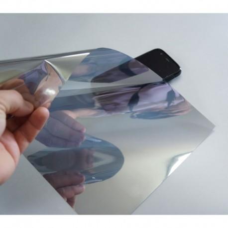 Amostra 20cm x 30cm - Película solar espelhado 20%