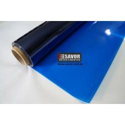 Amostra 20cm x 30cm - Película solar Azul natural 15%