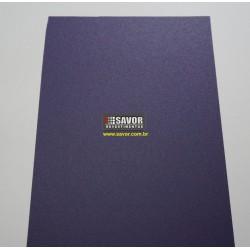 Amostra 20cm x 30cm - Adesivo Roxo texturizado fosco