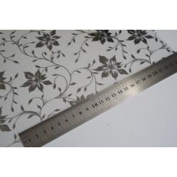 Amostra 20cm x 30cm - Floral prata revestimento adesivo decorativo