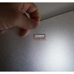 Amostra 20cm x 30cm - Adesivo decorativo jateado cristal