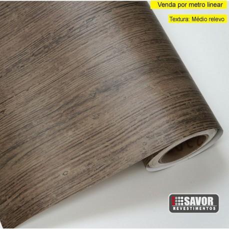 Madeira Carvalho rústico SG228 - Adesivo Decorativo (Largura 122cm) - venda por metro