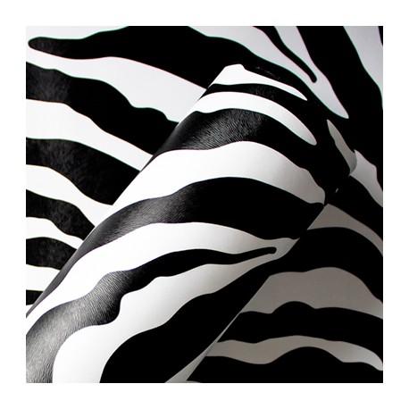 Zebra - revestimento PVC adesivo decorativo (Largura 122cm) - venda por metro