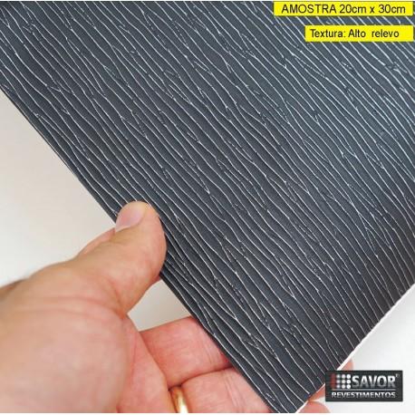 Amostra 20cm x 30cm - Engraving SC776 - revestimento PVC adesivo