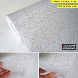 Granito SG857 ( branco moonlight)- revestimento PVC adesivo decorativo (Largura 122cm) - venda por metro