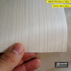 Amostra 20cm x 30cm - Madeira NG202 - revestimento PVC adesivo