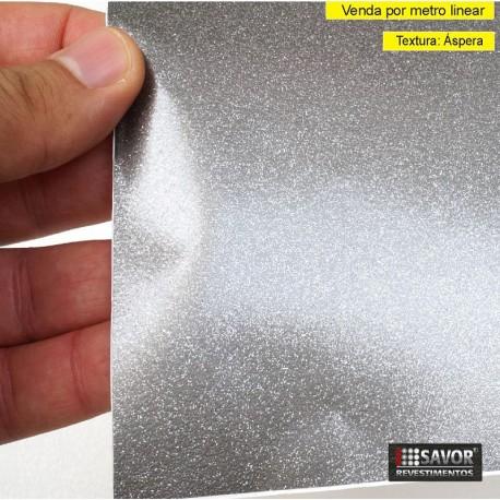 Adesivo Ultra Flake Graphite - Largura 122cm - venda por metro