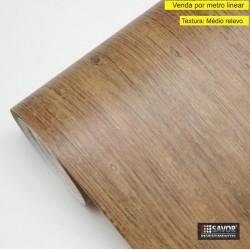 Madeira Carvalho rústico SG328 - Adesivo Decorativo (Largura 122cm) - venda por metro