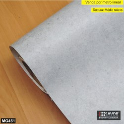 Cimento MG451 - Adesivo Decorativo (Largura 122cm) - venda por metro