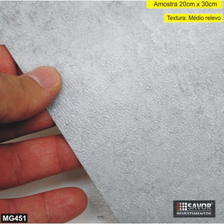 (Amostra 20cm x 30cm) Cimento MG451 - Adesivo Decorativo