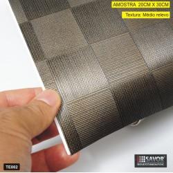 Amostra 20cm x 30cm - TE002 xadrez - Revestimento PVC adesivo