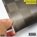 TE002 xadrex revestimento PVC adesivo decorativo (Largura 122cm) - venda por metro