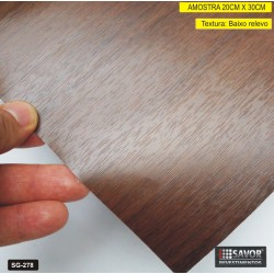(Amostra 20cm x 30cm) Madeira SG278 - Adesivo Decorativo