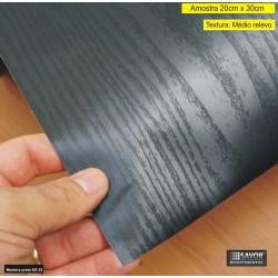 (Amostra 20cm x 30cm) Madeira preta SG53 - Adesivo Decorativo