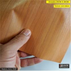 (Amostra 20cm x 30cm) Madeira CHERRY SGB1 - Adesivo Decorativo