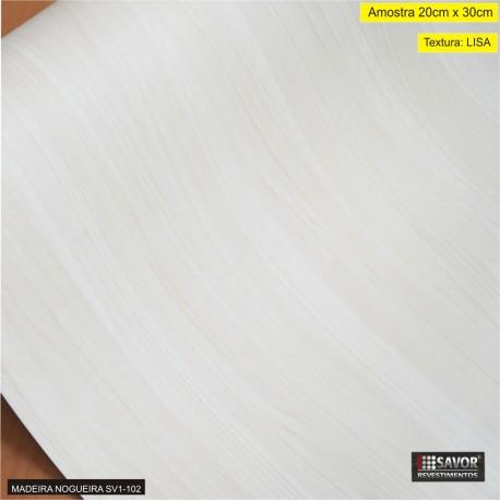 (Amostra 20cm x 30cm) Madeira Nogueria SV1-102 - Adesivo Decorativo - textura lisa