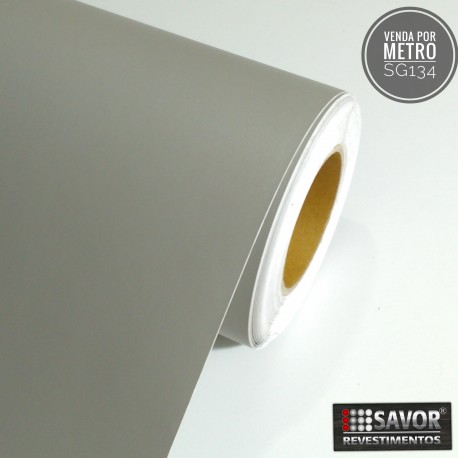 Cinza SG134 Adesivo Decorativo (Largura 122cm) venda por metro