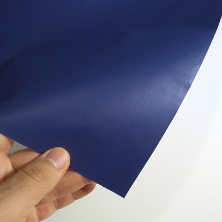 (Amostra 20cm x 30cm) Azul KS024 sólido Adesivo Decorativo
