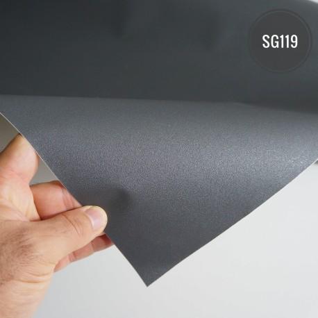 (Amostra 20cm x 30cm) Cinza SG119 linha sólido Adesivo Decorativo