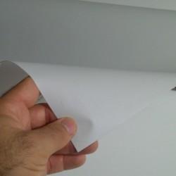 (Amostra 20cm x 30cm) Cinza SG91 linha sólido adesivo Decorativo