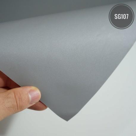 (Amostra 20cm x 30cm) Cinza SG107 linha sólido adesivo Decorativo