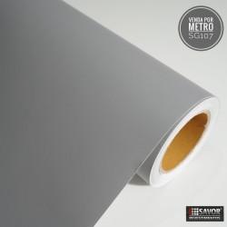 Cinza SG107 linha sólido adesivo Decorativo (Largura 122cm) venda por metro