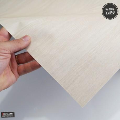 Amostra 20cm x 30cm - Madeira ASH SG140 - revestimento PVC adesivo