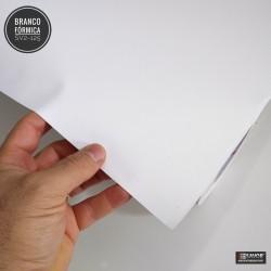 (Amostra 20cm x 30cm) Branco fórmica SV2-125 adesivo Decorativo