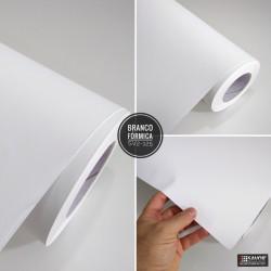 Branco fórmica SV2-125 desivo Decorativo (Largura 122cm) venda por metro