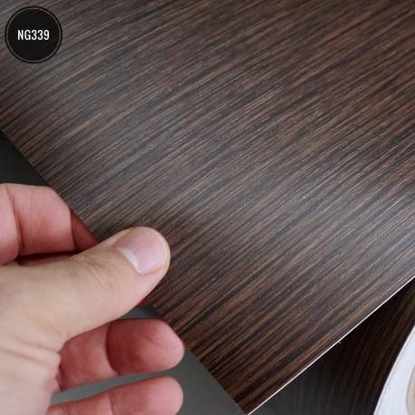 Amostra 20cm x 30cm - Madeira NG339 - revestimento PVC adesivo