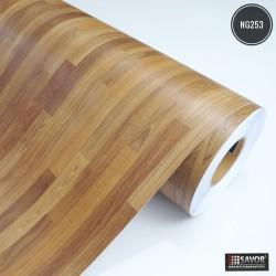 Madeira Taco NG253 - Adesivo Decorativo (Largura 122cm) - venda por metro