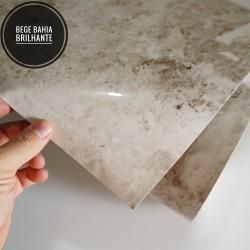 Mármore Bege Bahia BRILHANTE SV7-108B - Adesivo Decorativo (Largura 122cm) - venda por metro