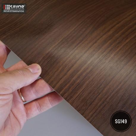 (Amostra 20cm x 30cm) Madeira Walnut SG149 - Adesivo Decorativo