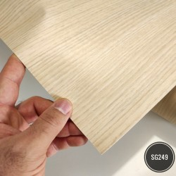 Amostra 20cm x 30cm - Madeira Teak SG249 - revestimento PVC adesivo