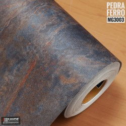 Pedra Ferro MG3003 Adesivo Decorativo (Largura 122cm) - venda por metro