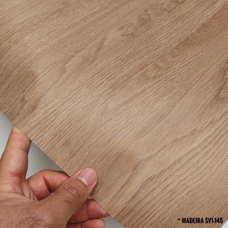 (Amostra 20cm x 30cm) Madeira Carvalho SV1-145 Adesivo Decorativo