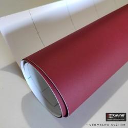 Vermelho fórmica SV2-139 adesivo Decorativo (Largura 122cm) venda por metro