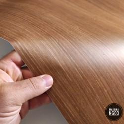 (Amostra 20cm x 30cm) Madeira Noce NG03- Adesivo Decorativo - textura lisa