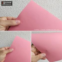 Coral / rosa fórmica SV2-147 adesivo decorativo (Largura 122cm) venda por metro