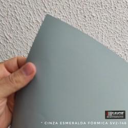 (Amostra 20cm x 30cm) Cinza Esmeralda fórmica SV2-146 adesivo Decorativo