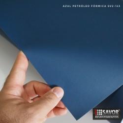 (Amostra 20cm x 30cm) Azul Petróleo fórmica SV2-143 adesivo Decorativo