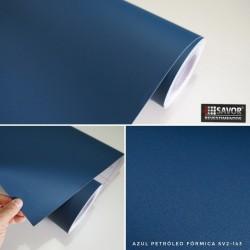 Azul Petróleo fórmica SV2-143 desivo Decorativo (Largura 122cm) venda por metro