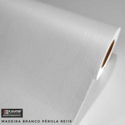 Madeira Branco Pérola RE116 (Largura 122cm) venda por metro