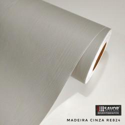 Madeira Cinza RE824 (Largura 122cm) venda por metro