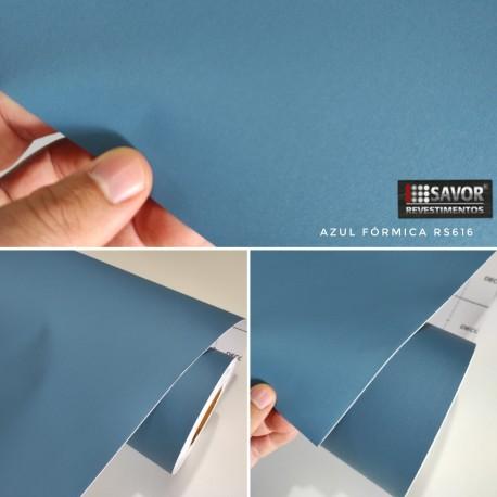 Azul fórmica RS616 Adesivo Decorativo (Largura 122cm) venda por metro