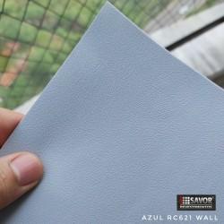 (Amostra 20cm x 30cm) Azul RC621 Adesivo Decorativo