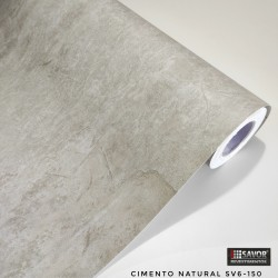Cimento Natural SV6-150 - Adesivo Decorativo (Largura 122cm) - venda por metro